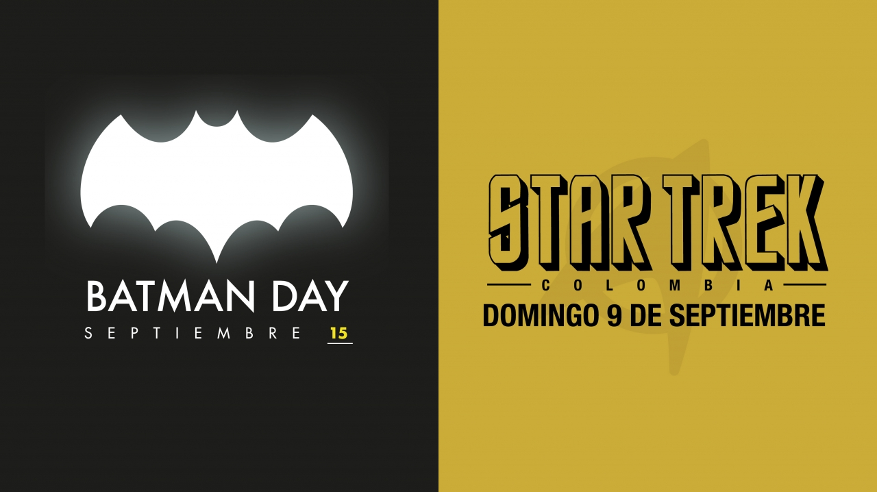 Batman y Star Trek en la Virgilio Barco